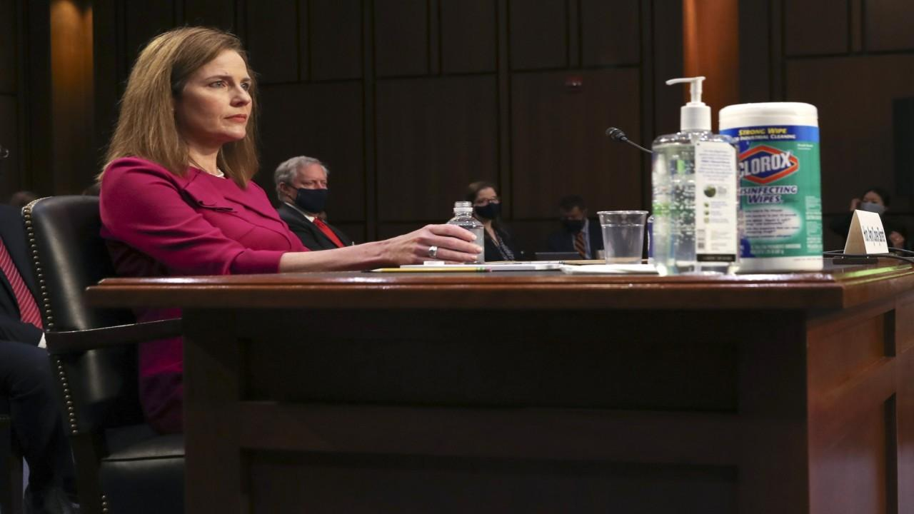Washington Examiner chief political correspondent Byron York and Democratic strategist Laura Fink on Amy Coney Barrett's Supreme Court confirmation hearing and packing the court.