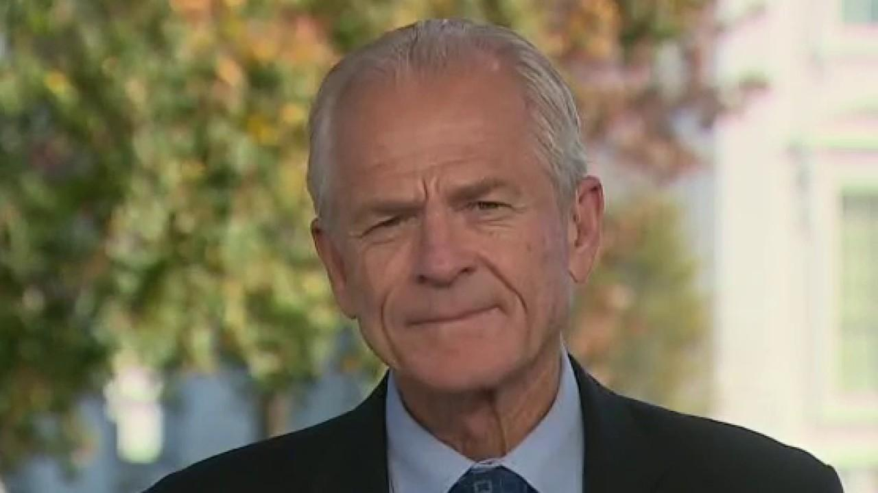 White House trade adviser Peter Navarro discusses the Trump administration's efforts to resolve the ongoing pension dispute between Delphi employees and the PBGC.
