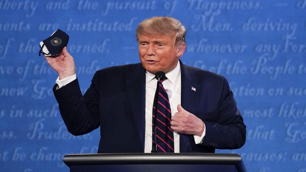 President Trump on coronavirus stimulus aid.