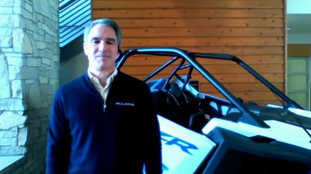 Polaris Inc. CEO Scott Wine says his company expects a 'really good year' for snowmobiles and other winter equipment.
