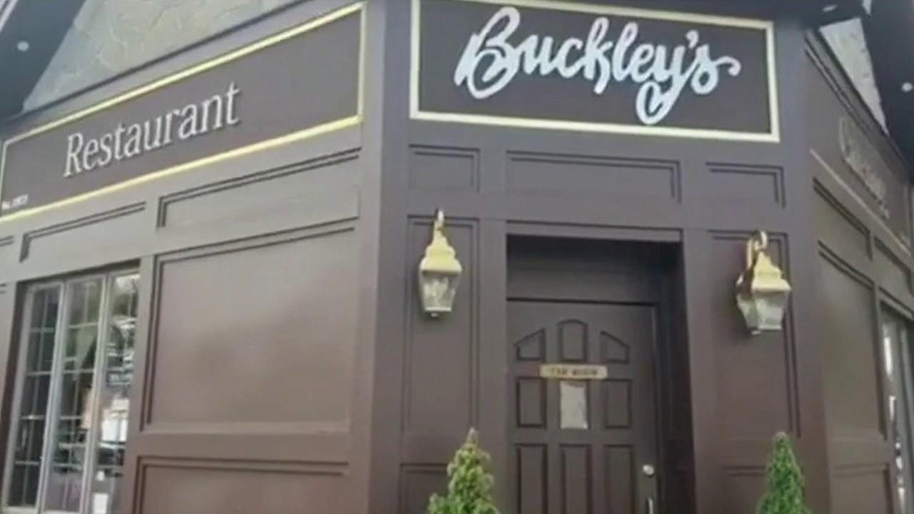 Buckley's Restaurant & Catering owner Jim Buckley discusses how New York coronavirus shutdowns have hit his business.