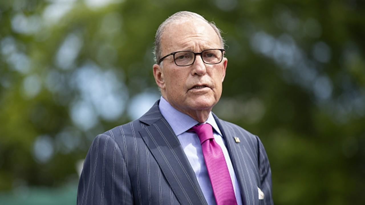 National Economic Council Director Larry Kudlow weighs in on President Trump's positive coronavirus results, another stimulus package and the September jobs report.