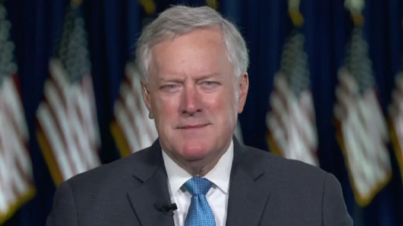 White House chief of staff Mark Meadows discusses the presidential election and the Hunter Biden email probe.