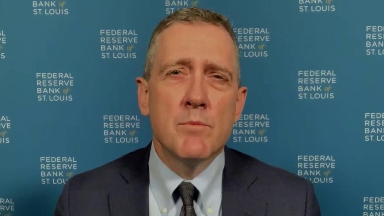 St. Louis Federal Reserve Bank President James Bullard weighs in