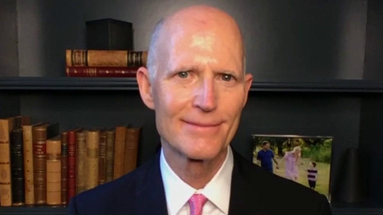 Sen. Rick Scott, R-Fla., on Paul Singer reportedly moving his massive hedge fund from New York to Florida.