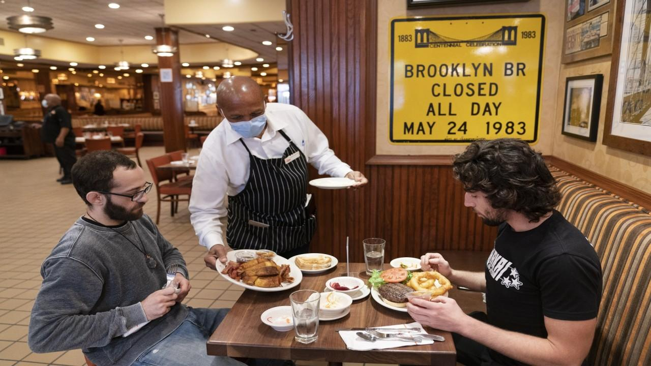 FOX Business' Jackie Deangelis on the return of indoor dining in New York City and a new app to ensure safety at restaurants amid the coronavirus pandemic.