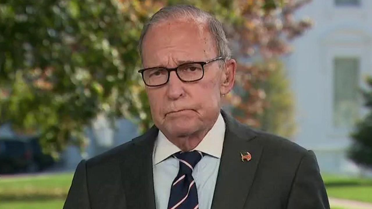National Economic Council Director Larry Kudlow on stimulus talks, the latest housing and jobs numbers and economic growth.