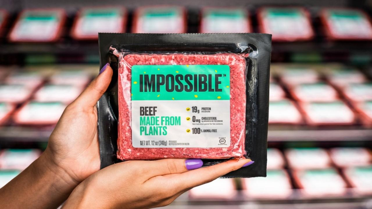 Impossible Foods CFO David Lee discusses growing interest for meat alternatives in the food industry.
