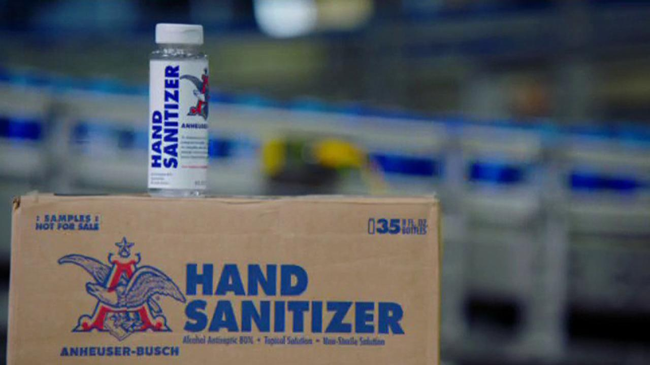 Anheuser-Busch U.S. CEO Michel Doukeris discusses how his company supported its American community and business partners and is donating sanitizer gel to polling places across the country.