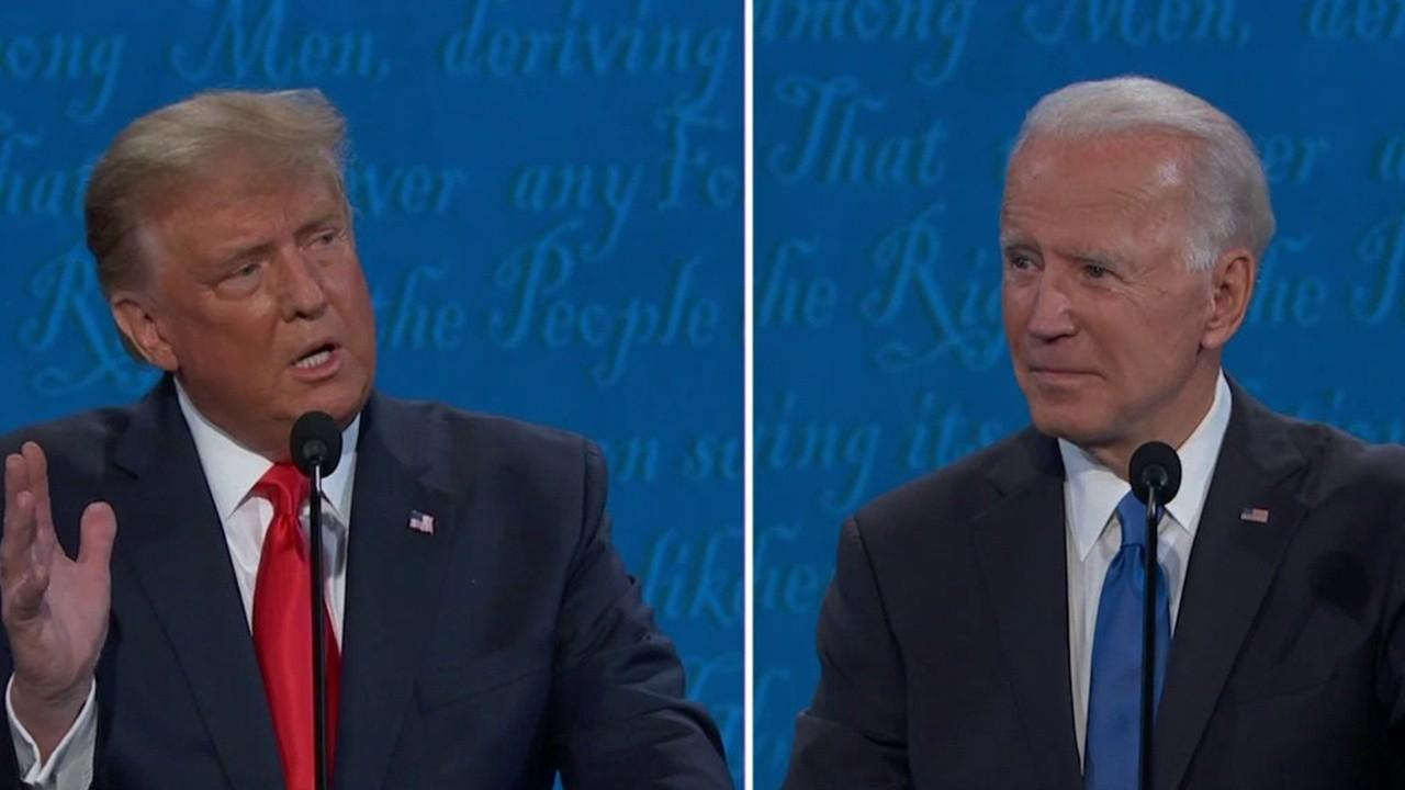 President Trump and Joe Biden disagree over how much the stock market impacts Americans.