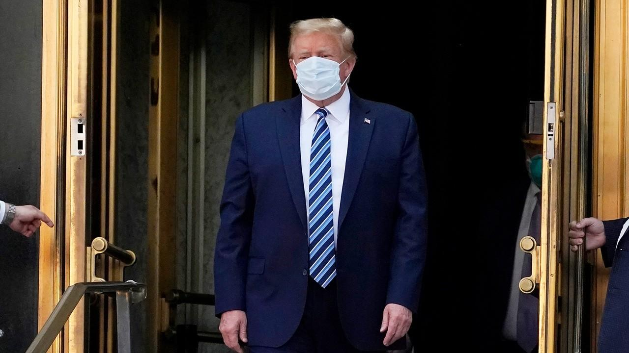 President Trump discusses coronavirus lockdowns across the U.S., specifically in New York.