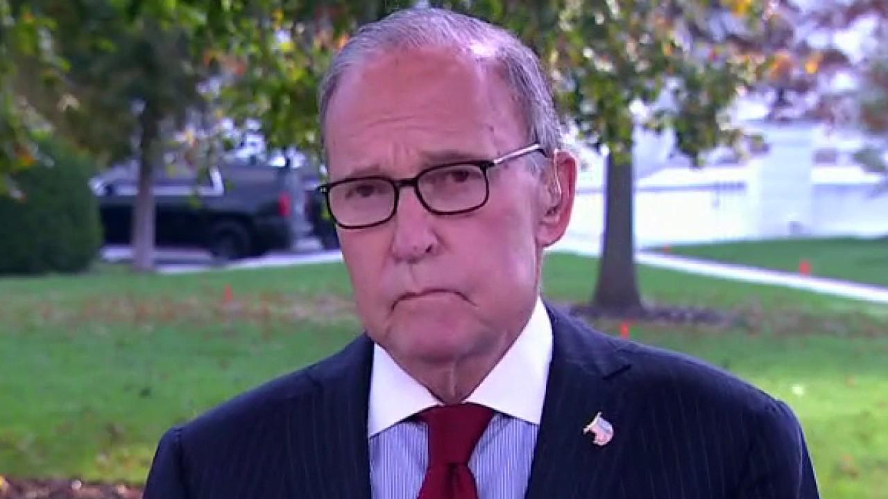 National Economic Council director Larry Kudlow weighs in on economic recovery and the final presidential debate.