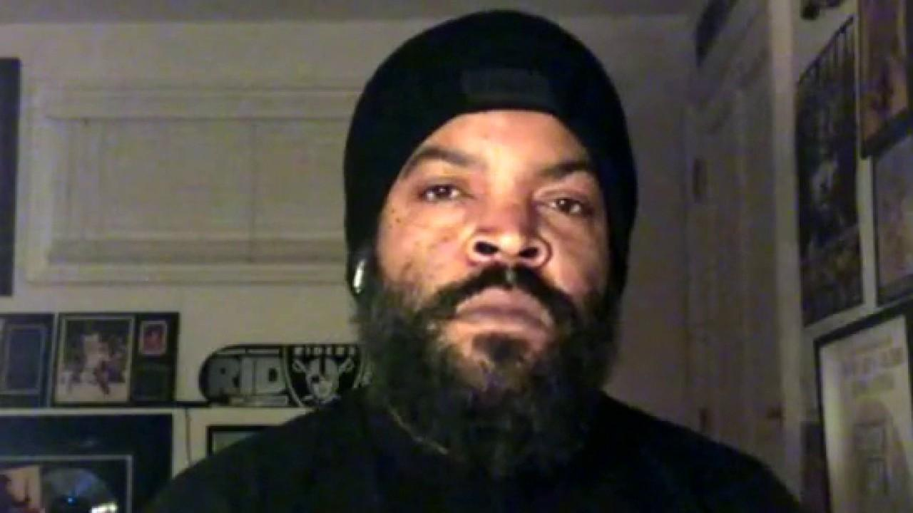 Rapper Ice Cube says he's 'pleading' to the government and the private sector 'to come up with a solution that can help America.'
