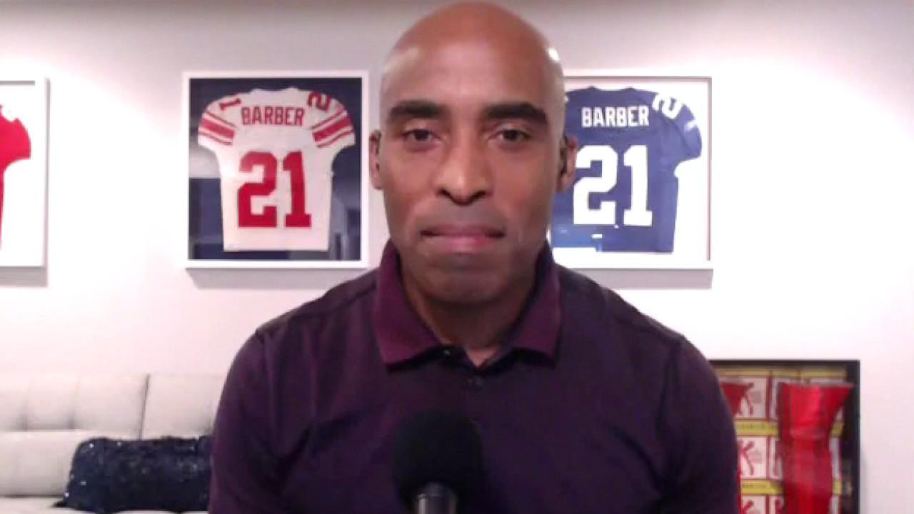 Tiki Barber, former NY Giants running back, on UGA fans slammed for not wearing masks.