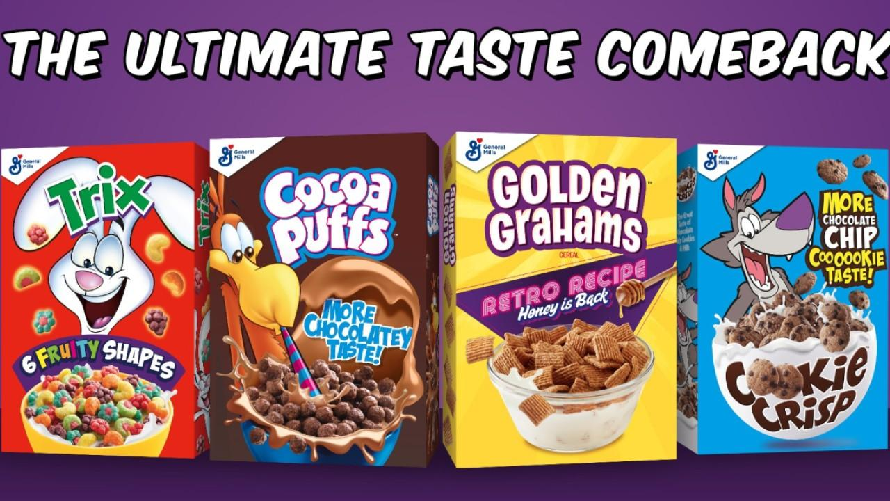 General Mills Chairman and CEO Jeff Harmening says consumers will be eating at home more even after the coronavirus pandemic ends and 'highest demand' for items include Progressive soup, Pillsbury, Betty Crocker and breakfast cereal.