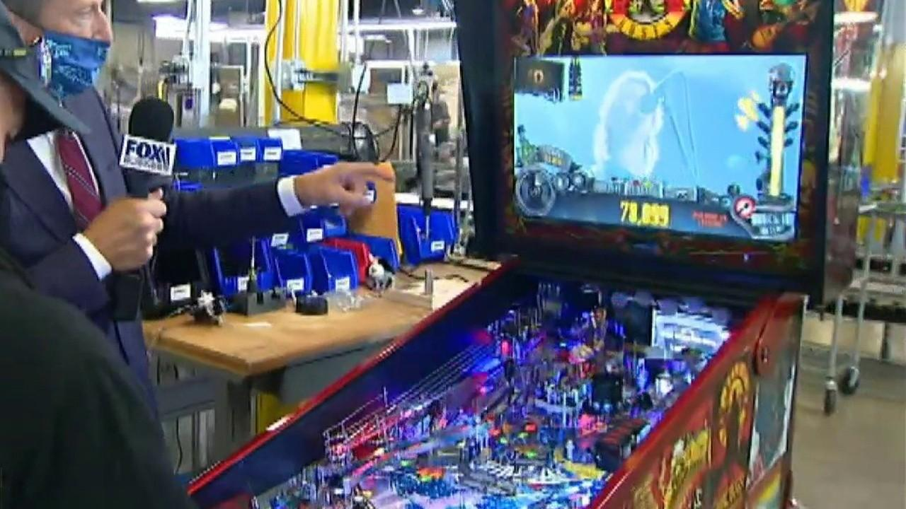 Pinball has become more popular amid the coronavirus, along with other at-home entertainment. FOX Business' Jeff Flock with more.