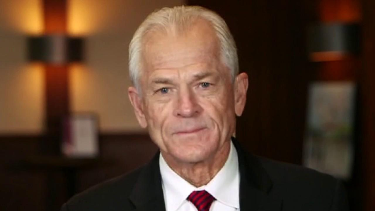 White House trade adviser Peter Navarro discusses the Trump administration's initiative to tap into domestic minerals and calls Democratic presidential nominee Joe Biden a 'stone-cold liar' as it pertains to fracking.