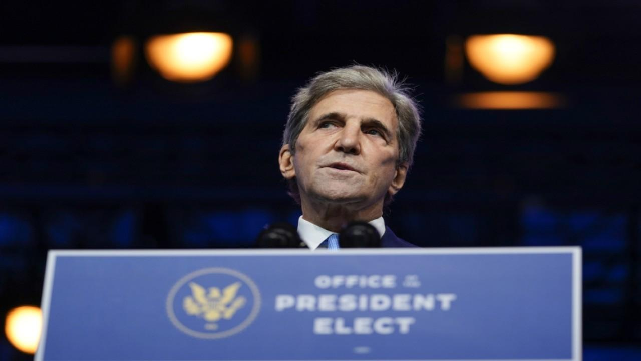 Former Secretary of State under President Obama John Kerry speaks on his nomination for Special Presidential Envoy for Climate.