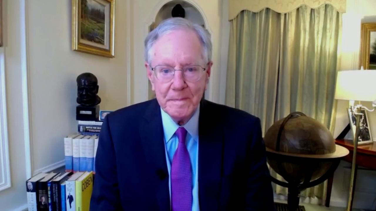Forbes Media chairman Steve Forbes weighs in on the election week economy, arguing the markets are doing well because the Democrats 'didn't run the table.'