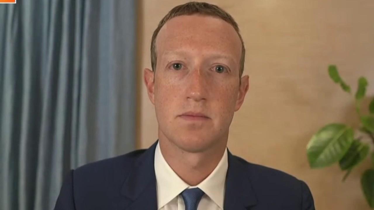 Sen. Richard Blumenthal, D-Conn., questions Facebook CEO on the platform's treatment of conservative users.