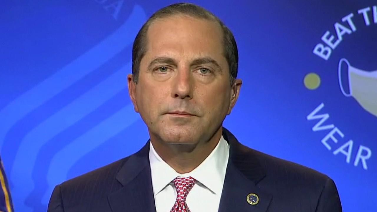 Health and Human Services Secretary Alex Azar gives update on the plan for COVID-19 vaccine distribution in the U.S. and provides insight into efforts to stop the spread of the disease.