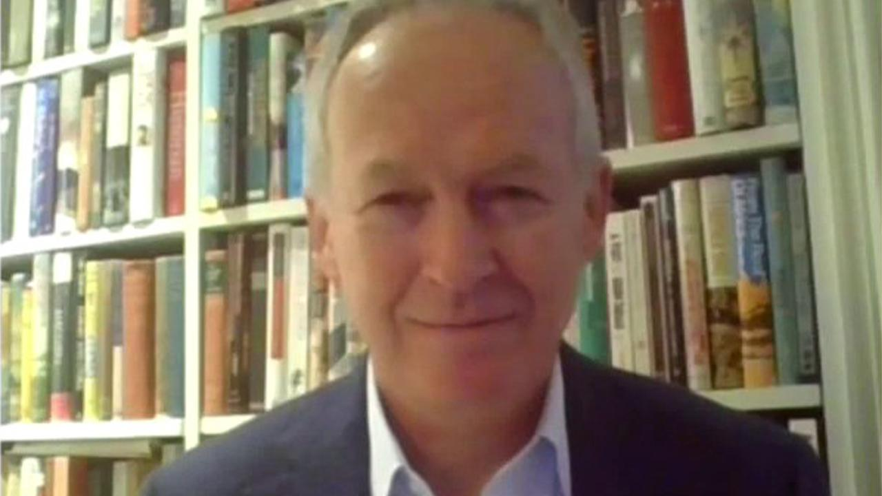 Barnes & Noble CEO James Daunt says his company's strong online presence has compensated for a dip in in-store sales due to the coronavirus pandemic.