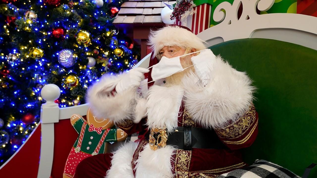 FOX Business' Jeff Flock on how Santa Clause is adapting to the coronavirus era.