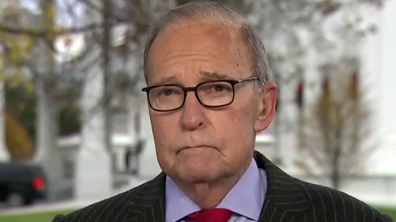 National Economic Council Director Larry Kudlow on the November ADP employment report and the state of the U.S. economy.