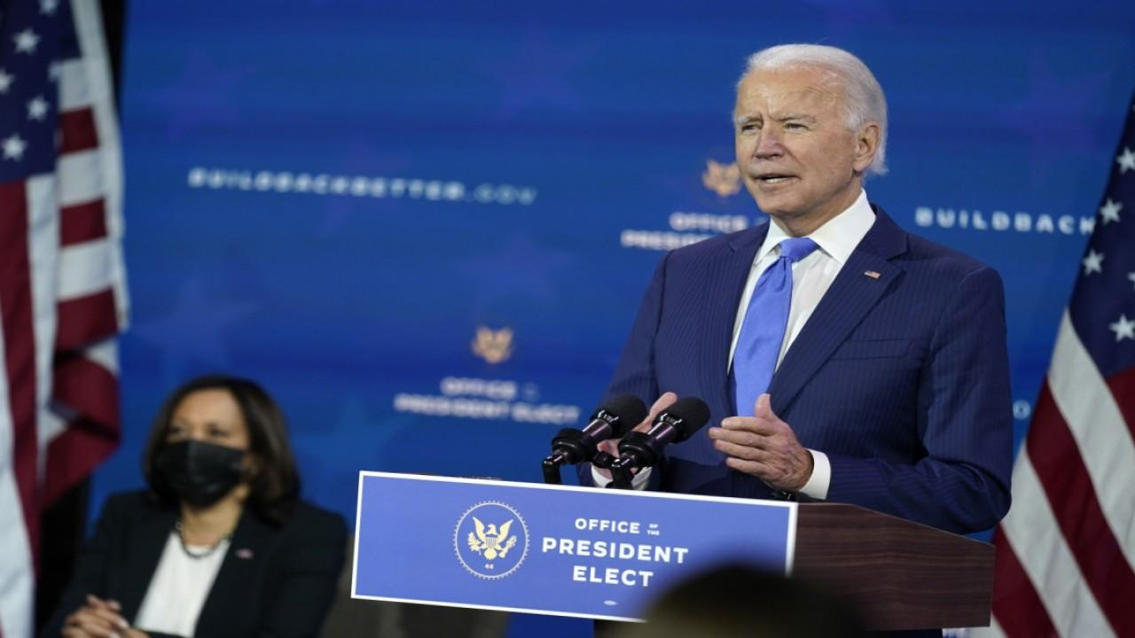 FOX Business' Charlie Gasparino and Jackie Deangelis comment on President-elect Biden's Cabinet picks.