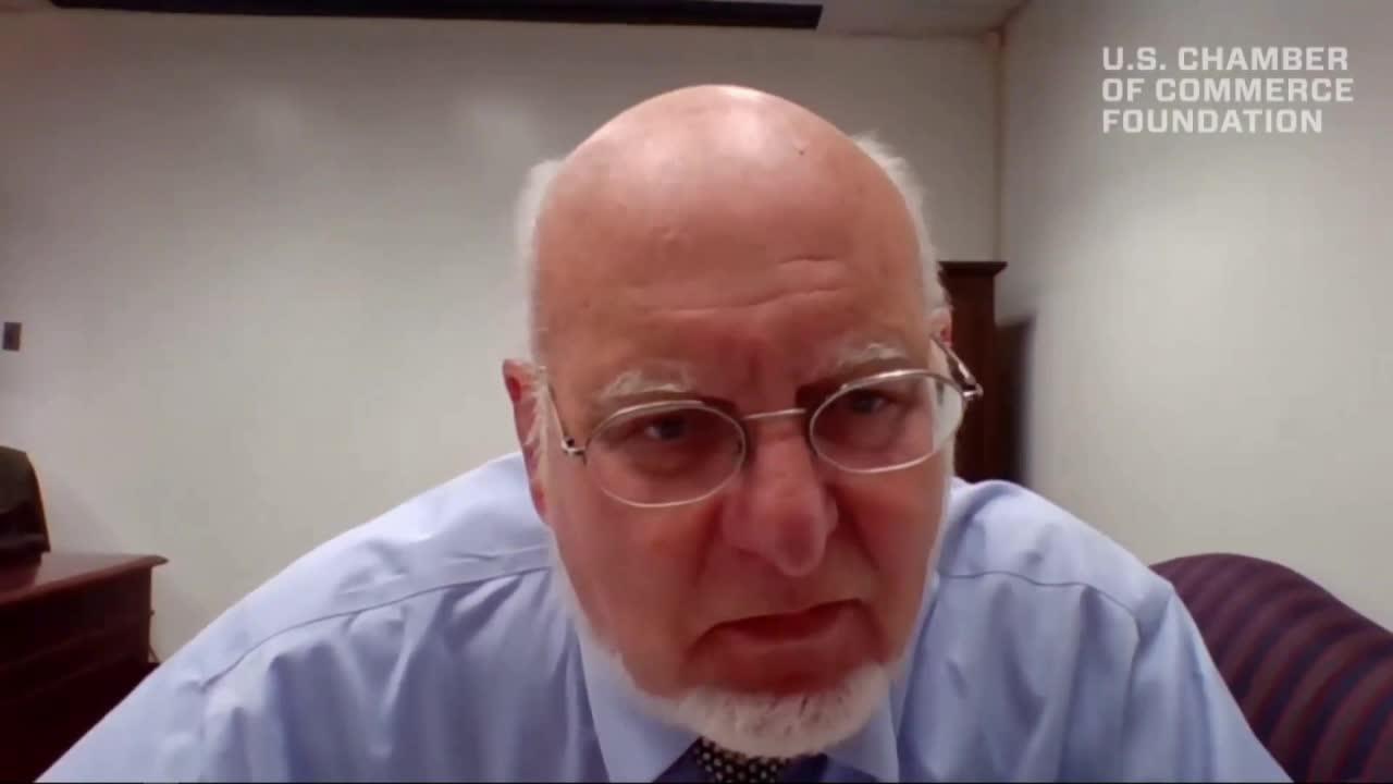 CDC Director Robert Redfield discusses the economic impact of the coronavirus pandemic.