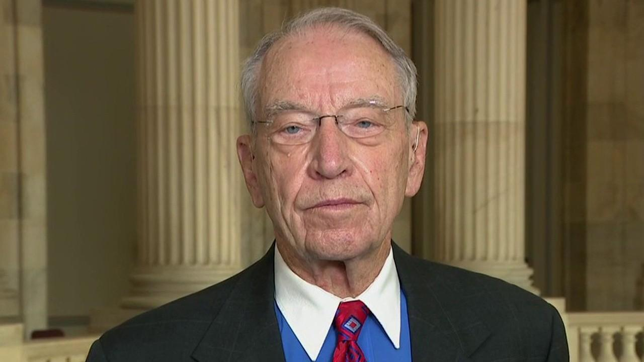Sen. Chuck Grassley, R-Iowa, on returning to work, stimulus, Big Tech, President Trump and 2020 elections in his first interview since testing positive for the coronavirus.
