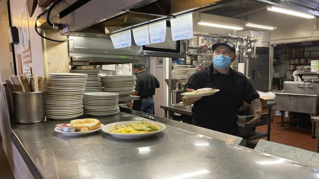 Slapfish Restaurant Group CEO Andrew Gruel weighs in on Gov. Newsom's call to lengthen California's stay-at-home orders and its impact on small business.