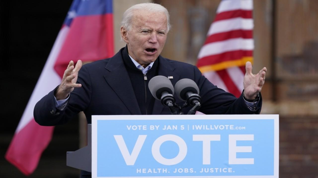 The Wall Street Journal assistant editorial page editor James Freeman discusses what a Biden administration would look like depending on the outcome of the Senate races.