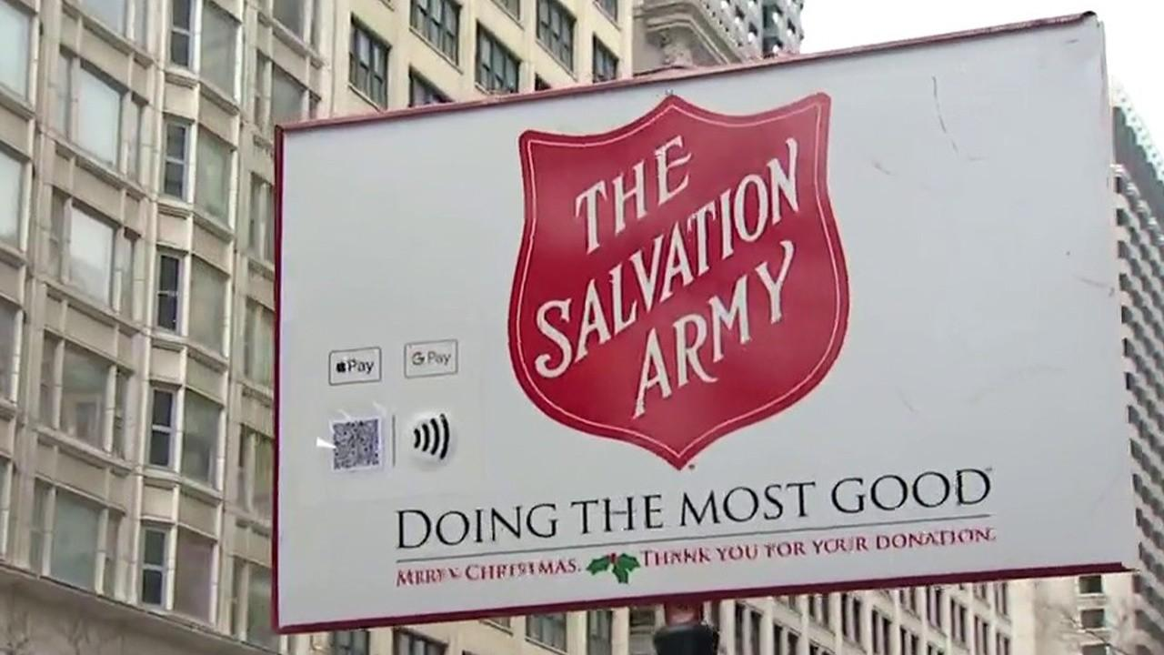Donations have fallen steeply for The Salvation Army amid the coronavirus pandemic. FOX Business' Grady Trimble with more.