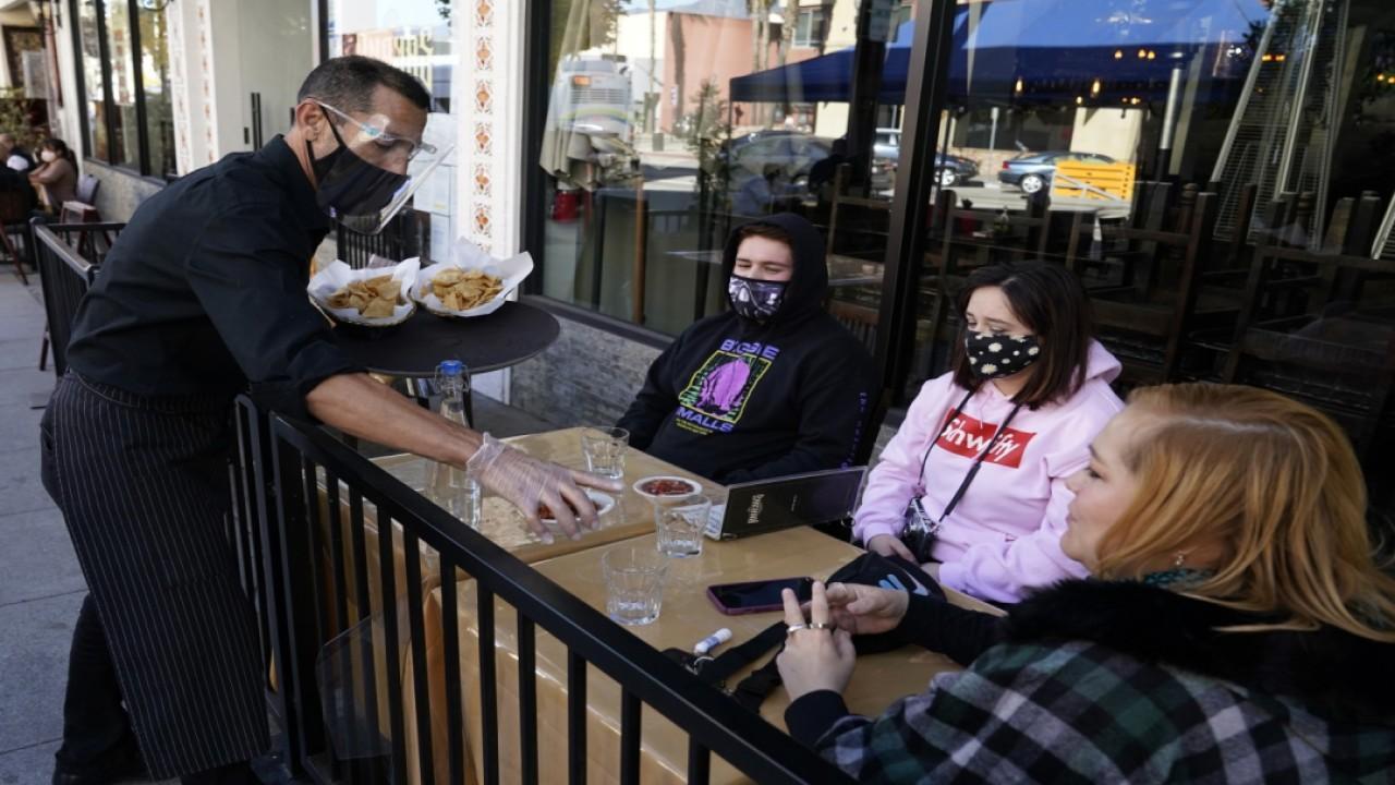Slapfish Restaurant Group Andrew Gruel discusses government officials enforcing harsher coronavirus restrictions on the restaurant industry.