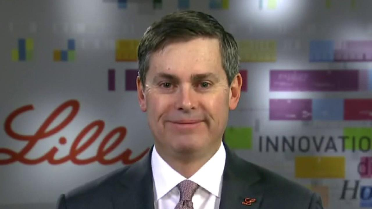 Eli Lilly CEO David Ricks argues his company has 'one of the freshest portfolios of products' in the pharmaceutical industry amid acquisition of Prevail Therapeutics.